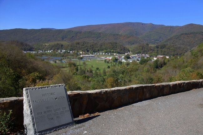 Historic Saltville Overlook image. Click for full size.