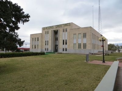 Castro County Courthouse image. Click for full size.