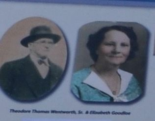 Theodore Thomas Wentworth, Sr & Elizabeth Goodloe image. Click for full size.