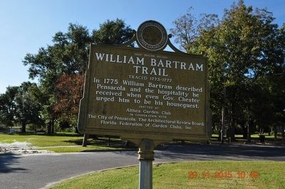 William Bertram Trail Marker image. Click for full size.