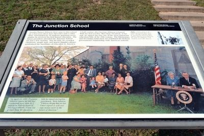 The Junction School Marker image. Click for full size.
