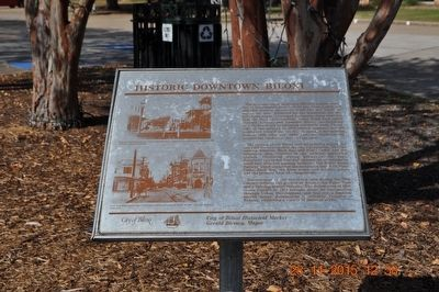 Historic Downtown Biloxi Marker image. Click for full size.