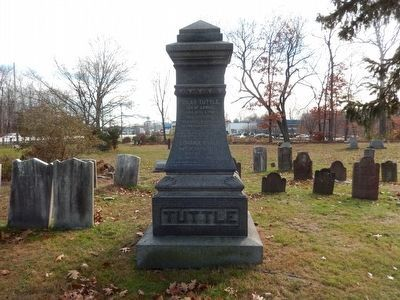 Whippany Burying Yard-Silas Tuttle, died Jan 9, 1888 image. Click for full size.