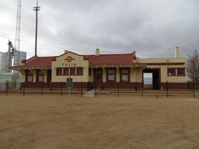 Tulia Depot image. Click for full size.