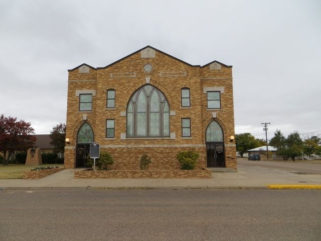 First Methodist Church of Tulia image. Click for full size.