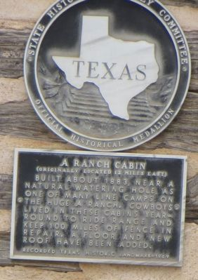 JA Ranch Cabin Marker image. Click for full size.
