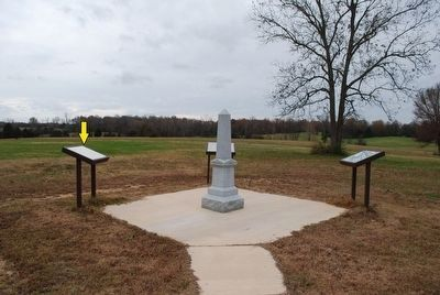 Treaty of Pontotoc Marker image. Click for full size.
