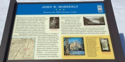 John W. Mobberly Marker image. Click for full size.