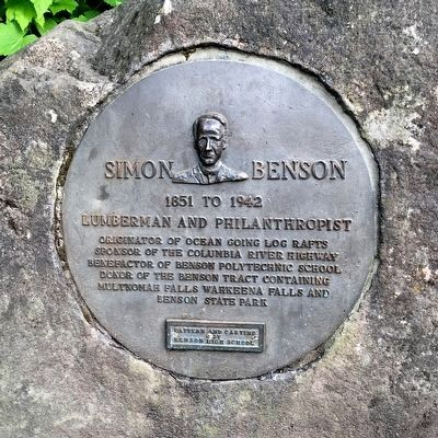 Simon Benson Marker image. Click for full size.