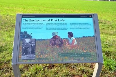 The Environmental First Lady Marker image. Click for full size.
