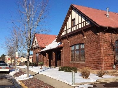 The Great Northern Railroad Depot image. Click for full size.