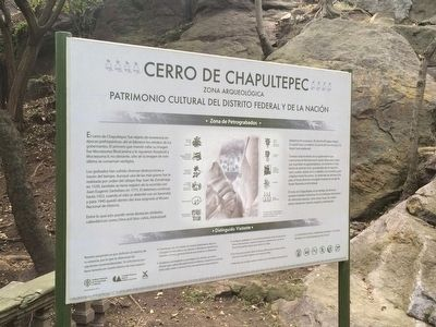 Chapultepec Hill Marker image. Click for full size.