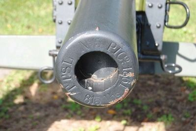 Artillery Cannon Markings image. Click for full size.