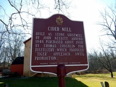 Cider Mill Marker image. Click for full size.