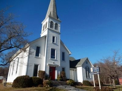 Flanders Historic District-United Methodist Church image. Click for full size.