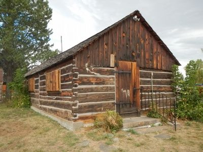 Bozeman Trail Blacksmith Shop image. Click for full size.