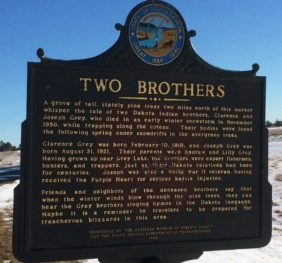 Two Brothers Marker image. Click for full size.