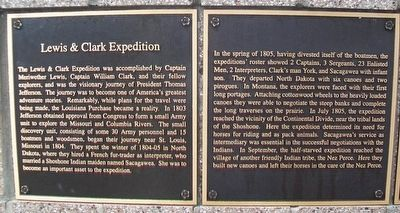 Lewis & Clark Expedition Marker image. Click for full size.
