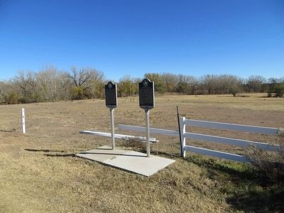 T Anchor Ranch Marker <i>on right</i> image. Click for full size.