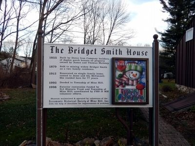 The Bridget Smith House Marker image. Click for full size.