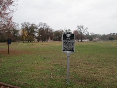 Thomas Glover Pollard, Sr. Marker and Pollard Park image. Click for full size.
