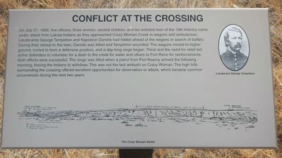 Conflict at the Crossing Marker image. Click for full size.