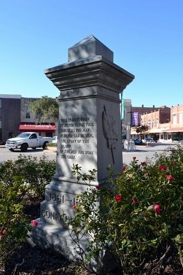 Caldwell County Confederate Soldiers Memorial image. Click for full size.