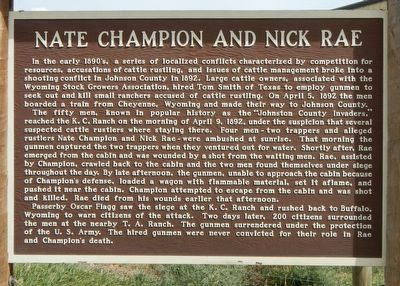 Nate Champion and Nick Rae Marker image. Click for full size.
