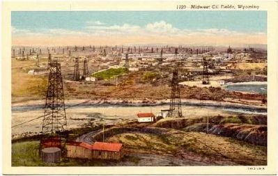 Salt Creek Oil Fields image. Click for full size.