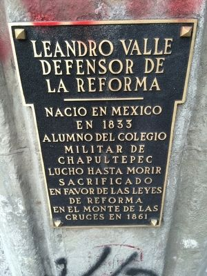 Leandro Valle Marker image. Click for full size.