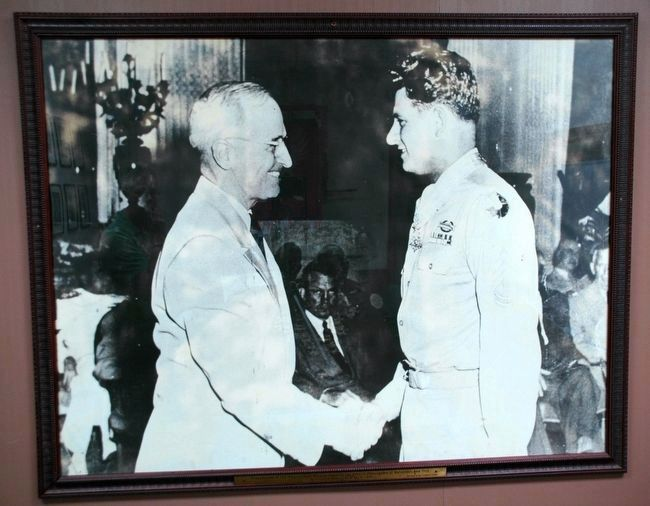 President Truman and Peter J. Dalessandro Photo, Click for full size