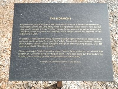 The Mormons Marker image. Click for full size.