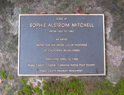 Sophie Alstrom Mitchell Marker image. Click for full size.