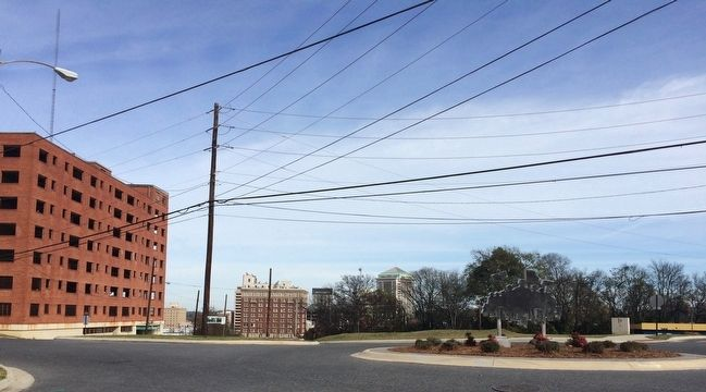 The Five Points Area looking towards downtown Montgomery. image. Click for full size.