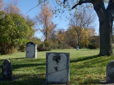 Indian Cemetery gravestones image. Click for full size.