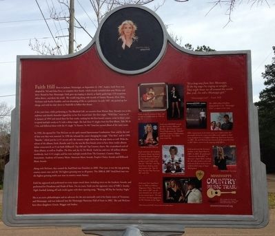Faith Hill Marker (side 2) image. Click for full size.