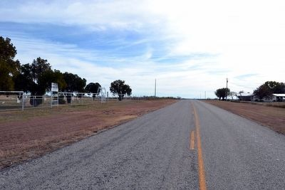 View to South from Farm-to-Market Road 2131 image. Click for full size.