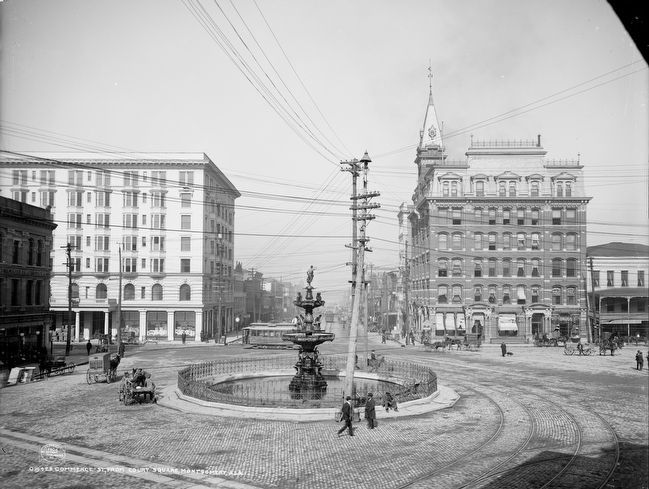 <i>Commerce St., from Court Square, Montgomery, Ala.</i> image. Click for full size.