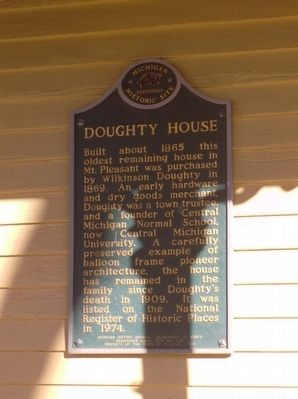Doughty House Marker image. Click for full size.