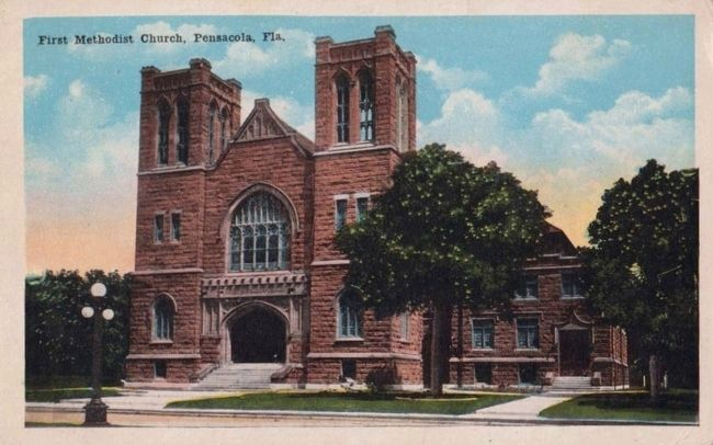 <i>First Methodist Church, Pensacola, Fla.</i> image. Click for full size.