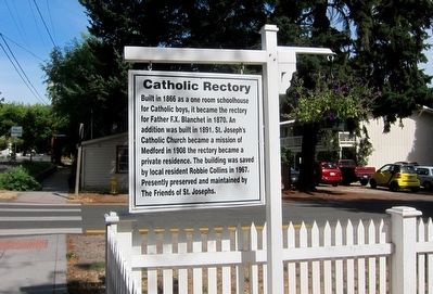 Catholic Rectory Marker image. Click for full size.