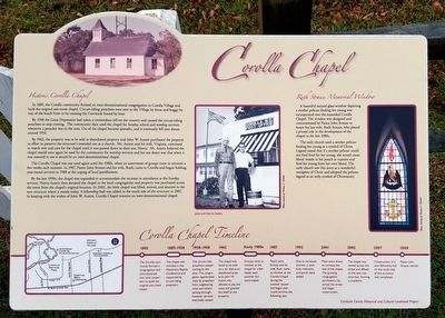 Historic Corolla Chapel Marker image. Click for full size.
