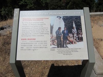 Honoring the Contributions of Chinese Immigrants Marker image. Click for full size.