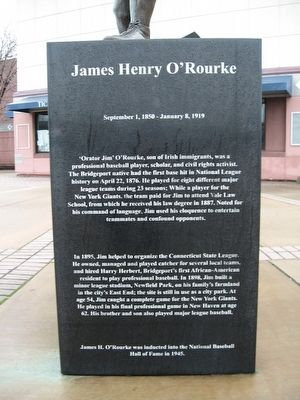 James Henry O'Rourke Marker image. Click for full size.