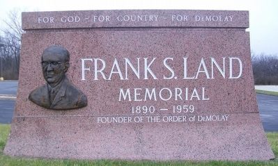 Frank S. Land Memorial image. Click for full size.