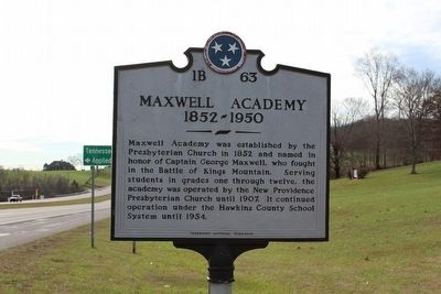 Maxwell Academy Marker image. Click for full size.