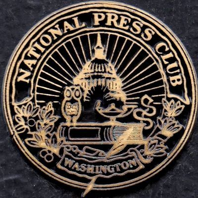 Seal of the National Press Club image. Click for full size.