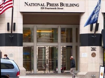 The National Press Building<br>529 Fourteenth Street image. Click for full size.