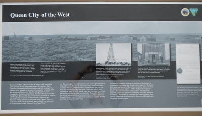 Queen City of the West Marker image. Click for full size.