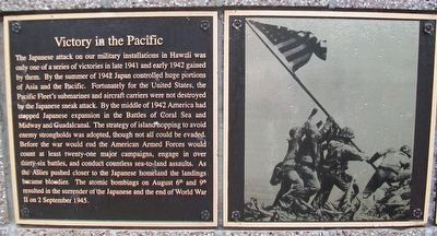 Victory in the Pacific Marker image. Click for full size.